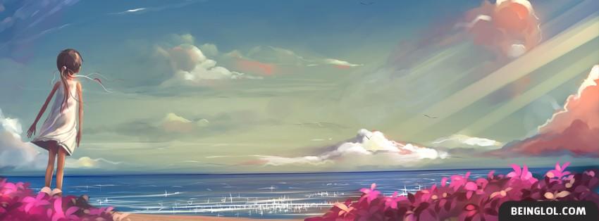 Beautiful Ocean Painting Facebook Timeline Cover
