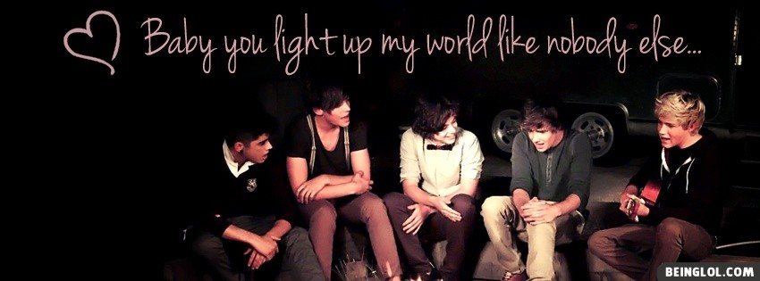Beautiful One Direction Facebook Cover