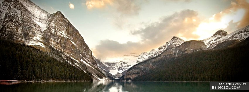 Beautiful View Of Mountains Facebook Cover