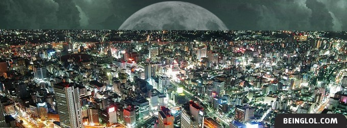 Beautifull Night View Facebook Cover