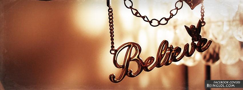 Believe Facebook Cover