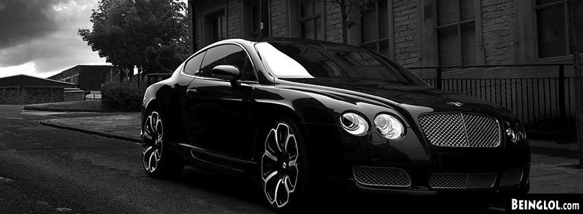 Bentley GTS Black Ed 2008 Facebook Cover