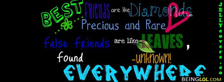 Friends Forever Quotes Cover Photos : Quotes facebook covers