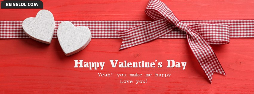 Best Happy Valentines Day Facebook Cover