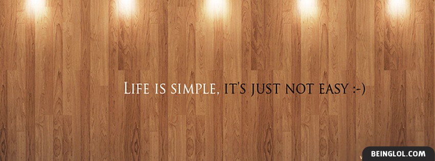 Best Simple Quote Facebook Cover