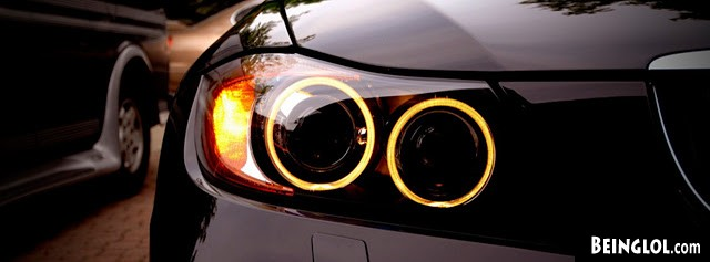 Bmw Headlights Facebook Cover