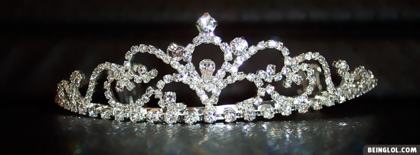 Bride Princess Crown Facebook Cover