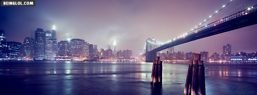 Bridge And City Facebook Cover