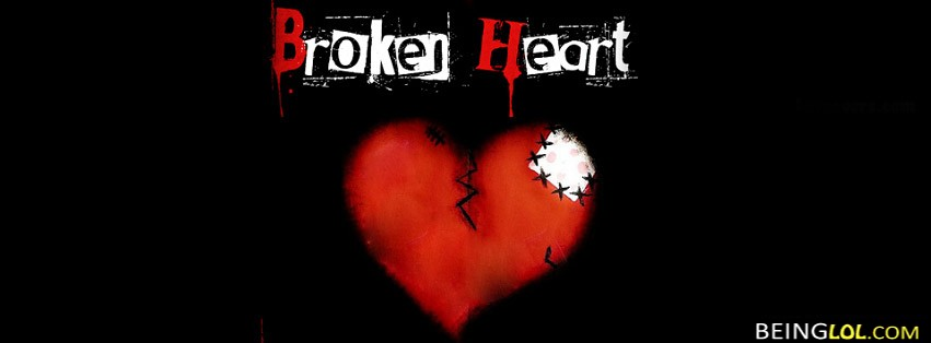 broken heart facebook cover Cover