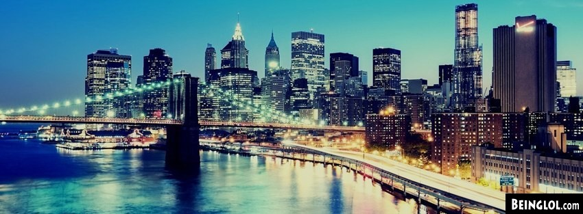 Brooklyn Bridge Manhattan Facebook Cover