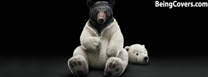 Brown Bear In The Polar Facebook Cover