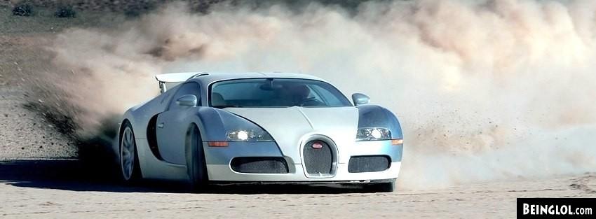 Bugatti Veyron Facebook Cover