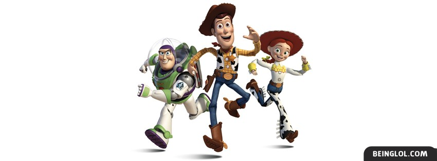 Buzz, Woody, Jessie Facebook Cover