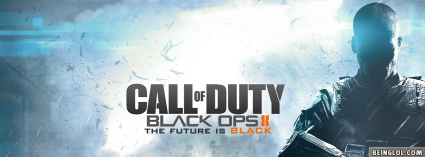 CALL OF DUTY BLACK OPS 2 Facebook Cover