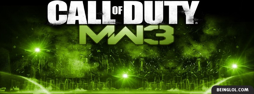 COD MW3 Facebook Cover