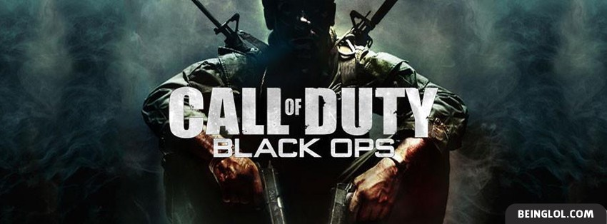 Call Of Duty Black Ops Facebook Cover