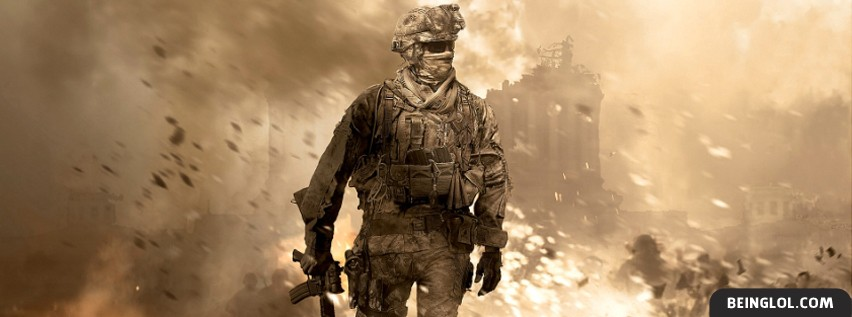 Call Of Duty Modern Warfare Facebook Cover