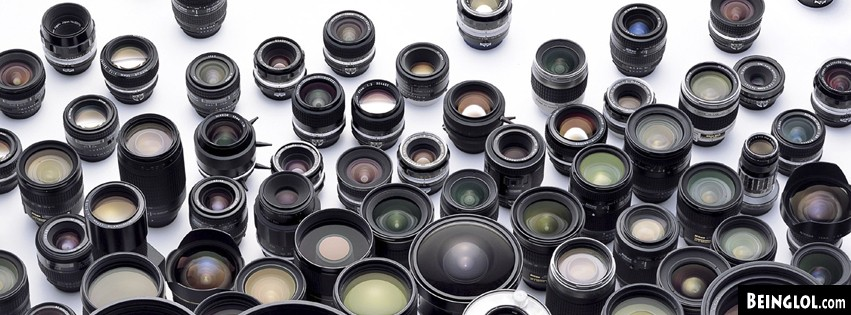 Camera Lenses Facebook Cover