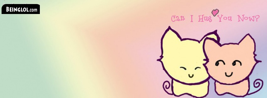 Can I Hug You ? Facebook Cover