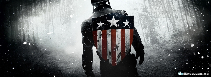 Captain America Shield Facebook Cover