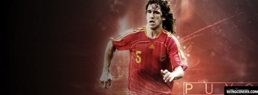 Carles Puyol Spain Facebook Cover