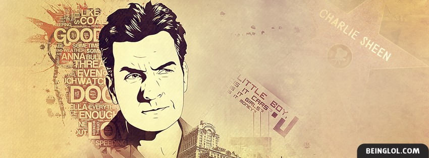 Charlie Sheen Facebook Cover