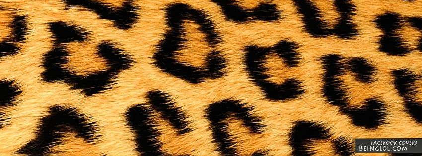 Cheetah Print Facebook Cover