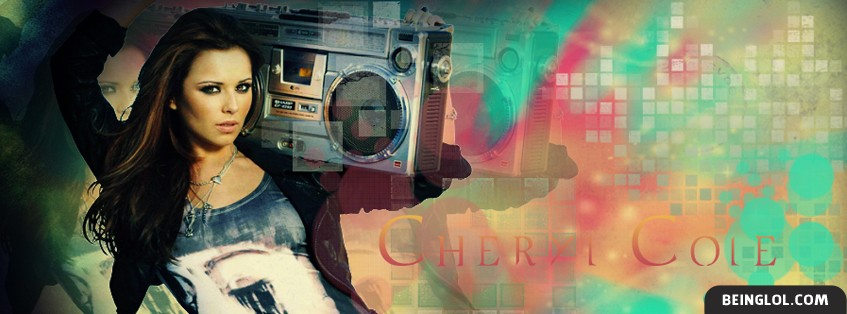 Cheryl Cole Facebook Cover