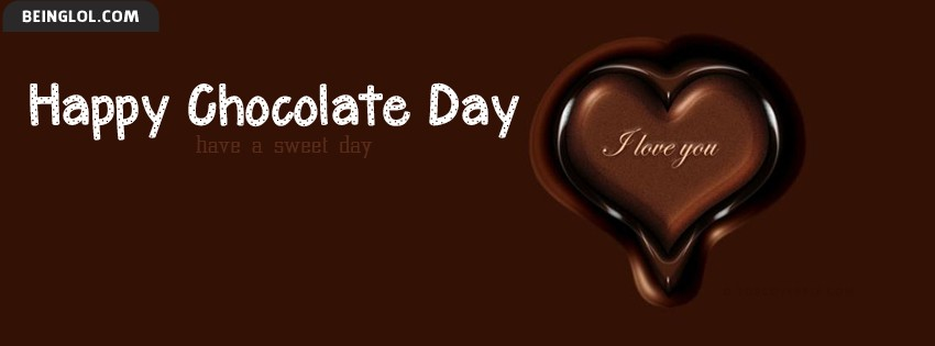 Chocolate Day Facebook Cover