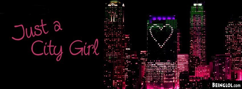 City Girl Facebook Cover