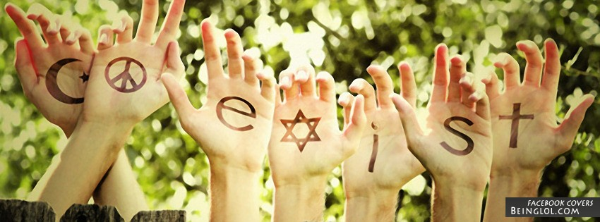 Co-Exist Facebook Cover