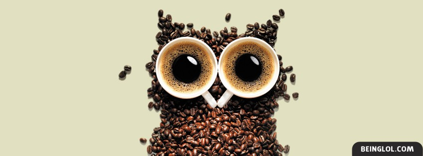 Coffee Owl Facebook Cover