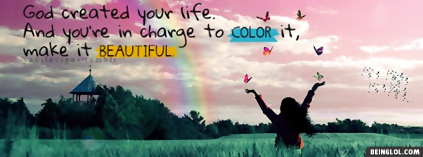 Color Your Life Facebook Cover
