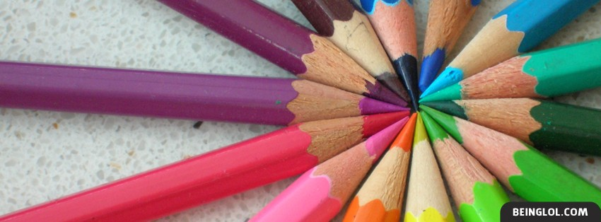 Colored Pencils Facebook Cover