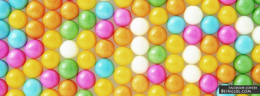 Colorful Candy Facebook Cover