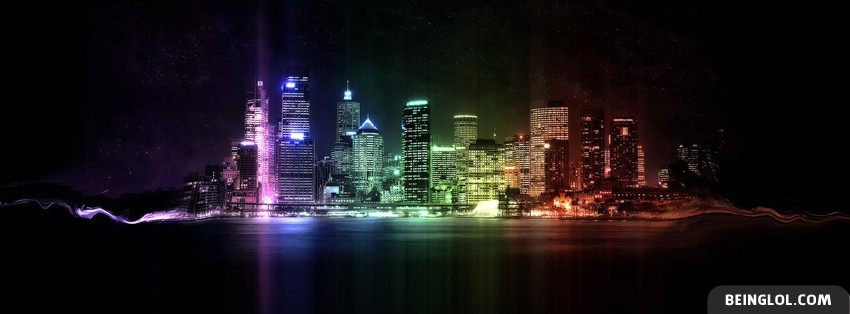 Colorful City Facebook Cover