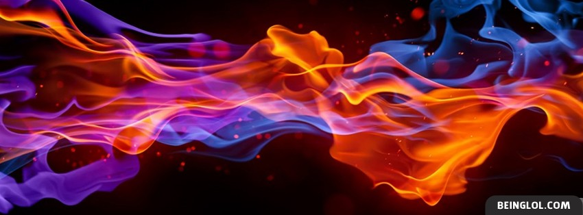 Colorful Flare Facebook Cover