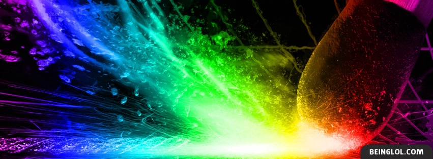 Colorful Match Strike Facebook Cover