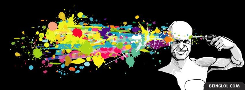 Colorful Suicide Facebook Cover