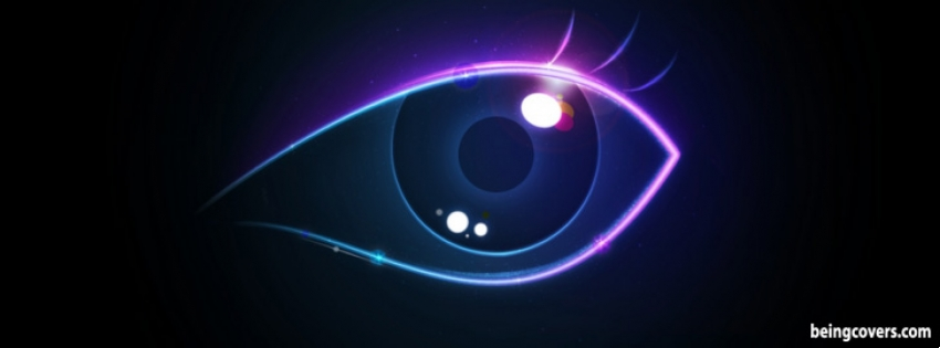 Colorful Eyes Facebook Cover