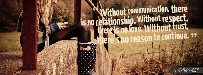 Communication Respect Trust Facebook Cover