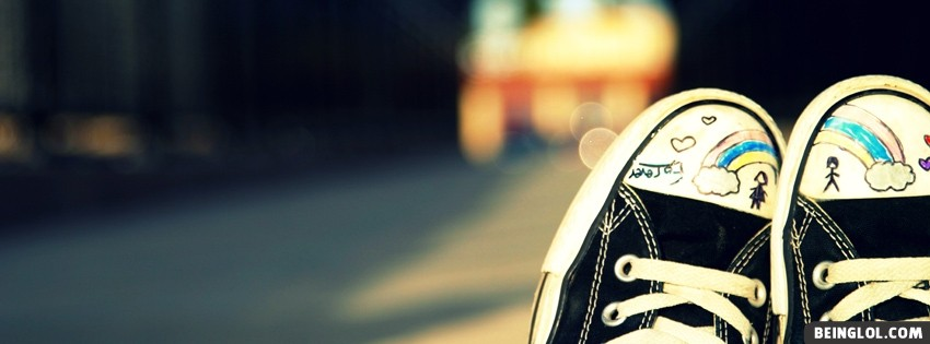 Converse Shoes Art Facebook Cover
