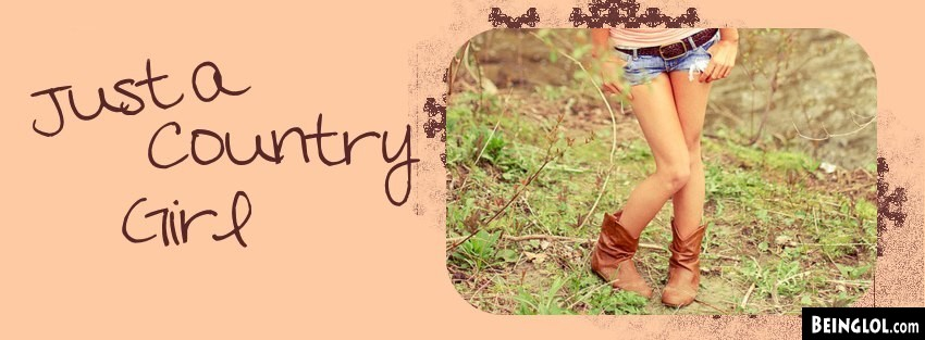 Country Girl  Facebook Cover
