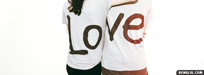 Couple T Shirt Facebook Cover