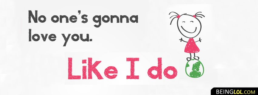 Crazy Loving Girl Quote Facebook Cover