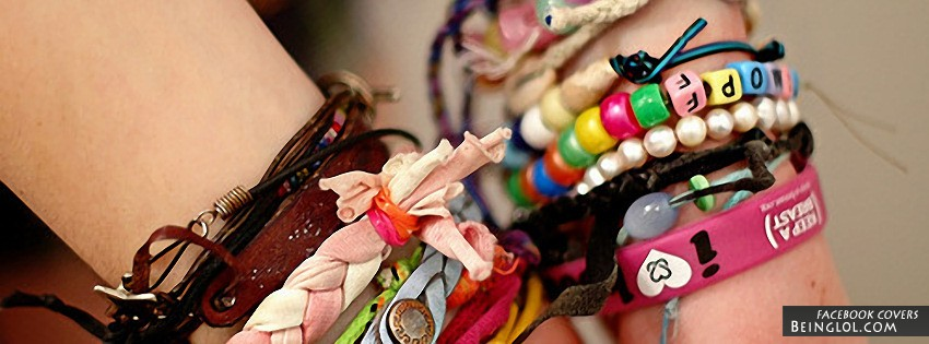 Cute Bracelets Facebook Cover
