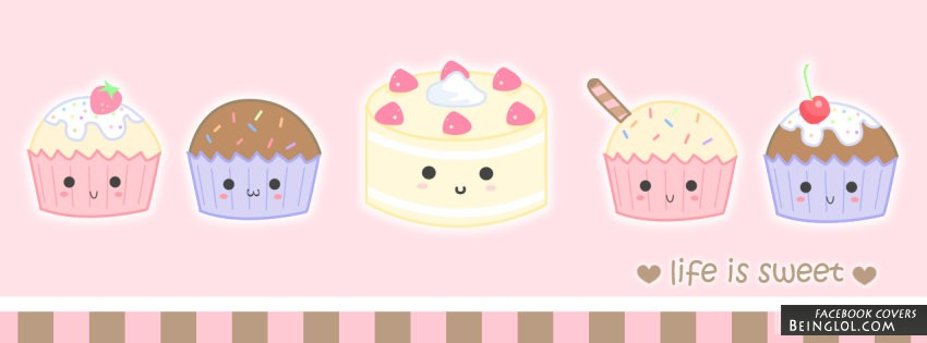 Cute Cakes Facebook Cover