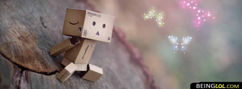 Cute Danbo Facebook Cover
