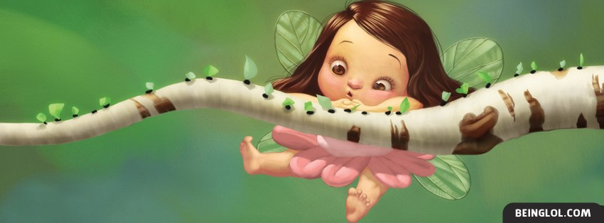 Cute Fairy Facebook Cover
