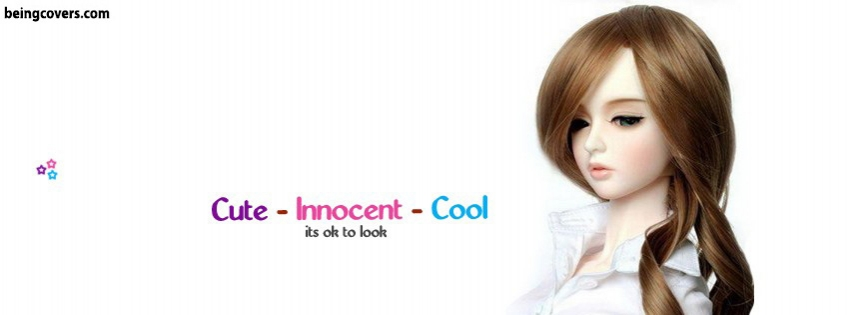 Cute Innocent Cool Facebook Cover